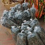 Bags of Khai Paen (River Weed) - Luang Prabang, Laos