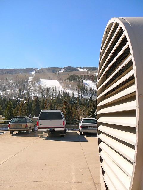 Parking Garage Ventilation : Exhaust fan at vail parking garage flickr photo sharing