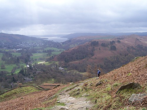Jane in the Lake District