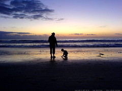 beach sunset for rachel, nick, sequoia   DSC00020