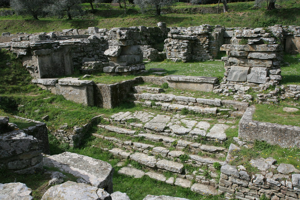 Etruscan Temple Ruins