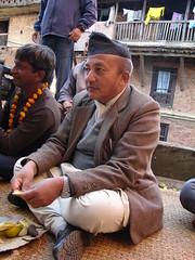 Shreelal---Participating-on-Kanya-Puja