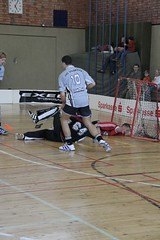 roller hockey(0.0), roller in-line hockey(0.0), street sports(0.0), indoor field hockey(0.0), stick and ball games(1.0), championship(1.0), floor hockey(1.0), sports(1.0), competition event(1.0), team sport(1.0), hockey(1.0), player(1.0), floorball(1.0), ball game(1.0), athlete(1.0), tournament(1.0),