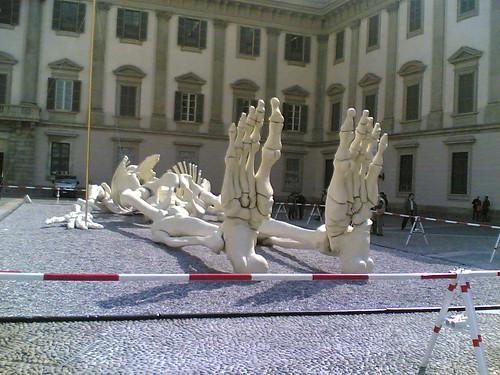 Calamita cosmica a Milano (Palazzo Reale)