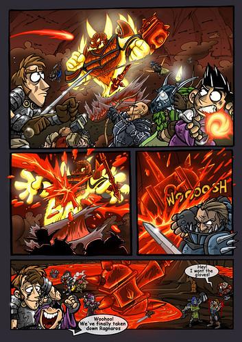 Ragnaros Comic