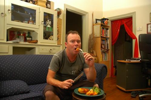 112/365 days - tv dinner