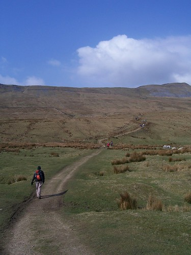 Starting to go up Whernside