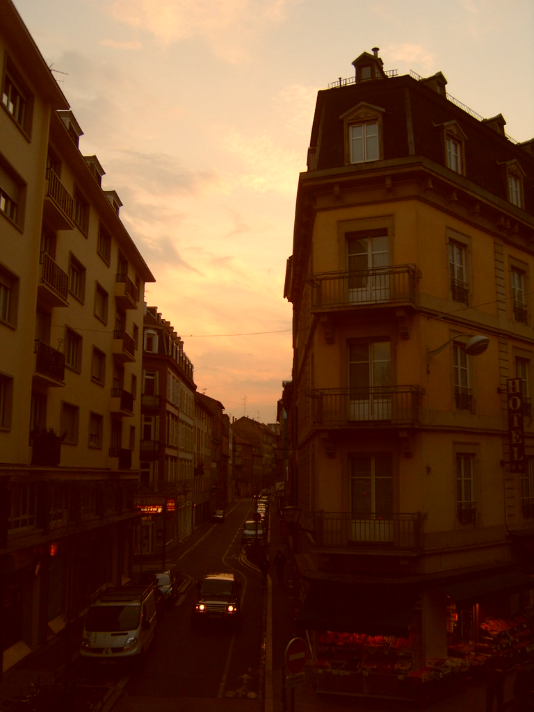 Strasbourg and sunsets