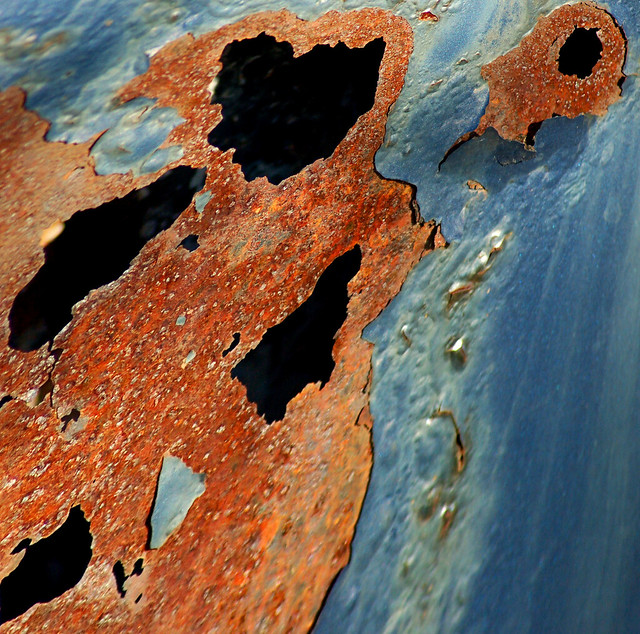 Rusting of metals