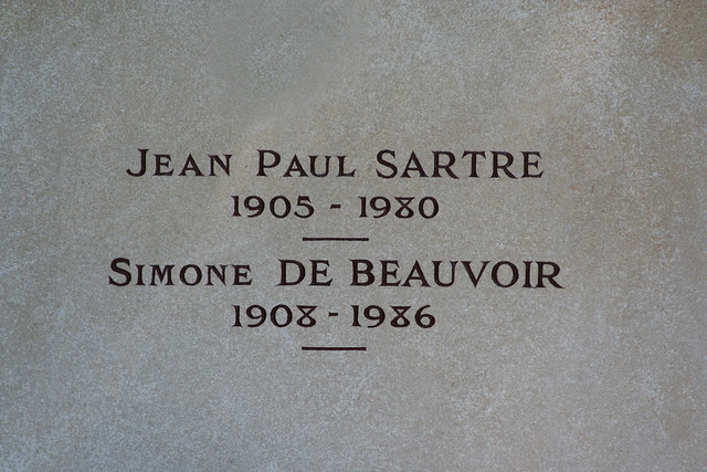 JEAN PAUL SARTRE / SIMONE DE BEAUVOIR