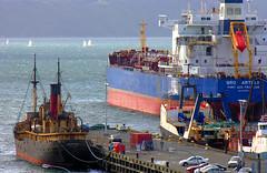 port, vehicle, ship, sea, research vessel, harbor, cargo ship, watercraft, oil tanker, infrastructure,