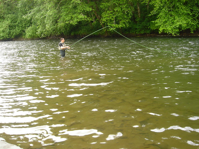 Me fishing on the kalama river flickr photo sharing for Kalama river fishing