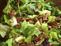 spinach salad, salad, food, dish, cuisine,