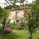 House and Garden in Moulismes, Vienne, France