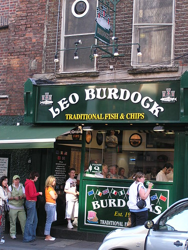 Leo Burdock Fish & Chips