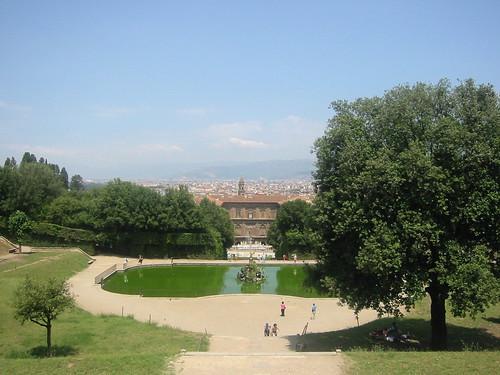 Weekend a firenze parchi e giardini a firenze - I giardini di palazzo rucellai a firenze ...