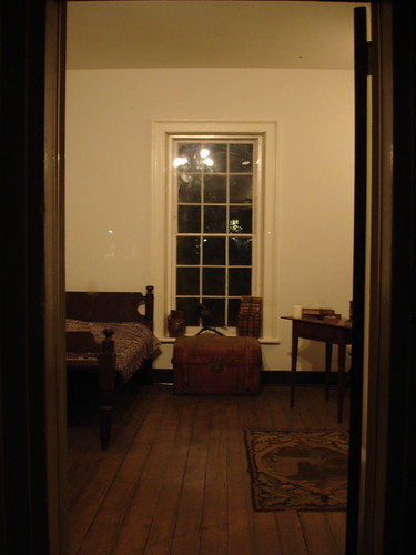Edgar Allen Poe's Dorm Room at UVA