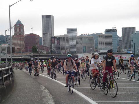 Critical Mass - Portland