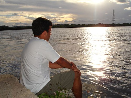 alagoas sãofrancisco river sunset brazil penedo
