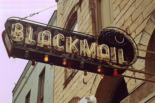 Blackmail Neon, Austin, TX