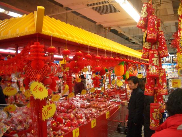 Chinese New Year at Carrefour