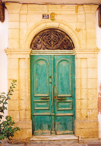 Venetian doorway, Chania, Crete