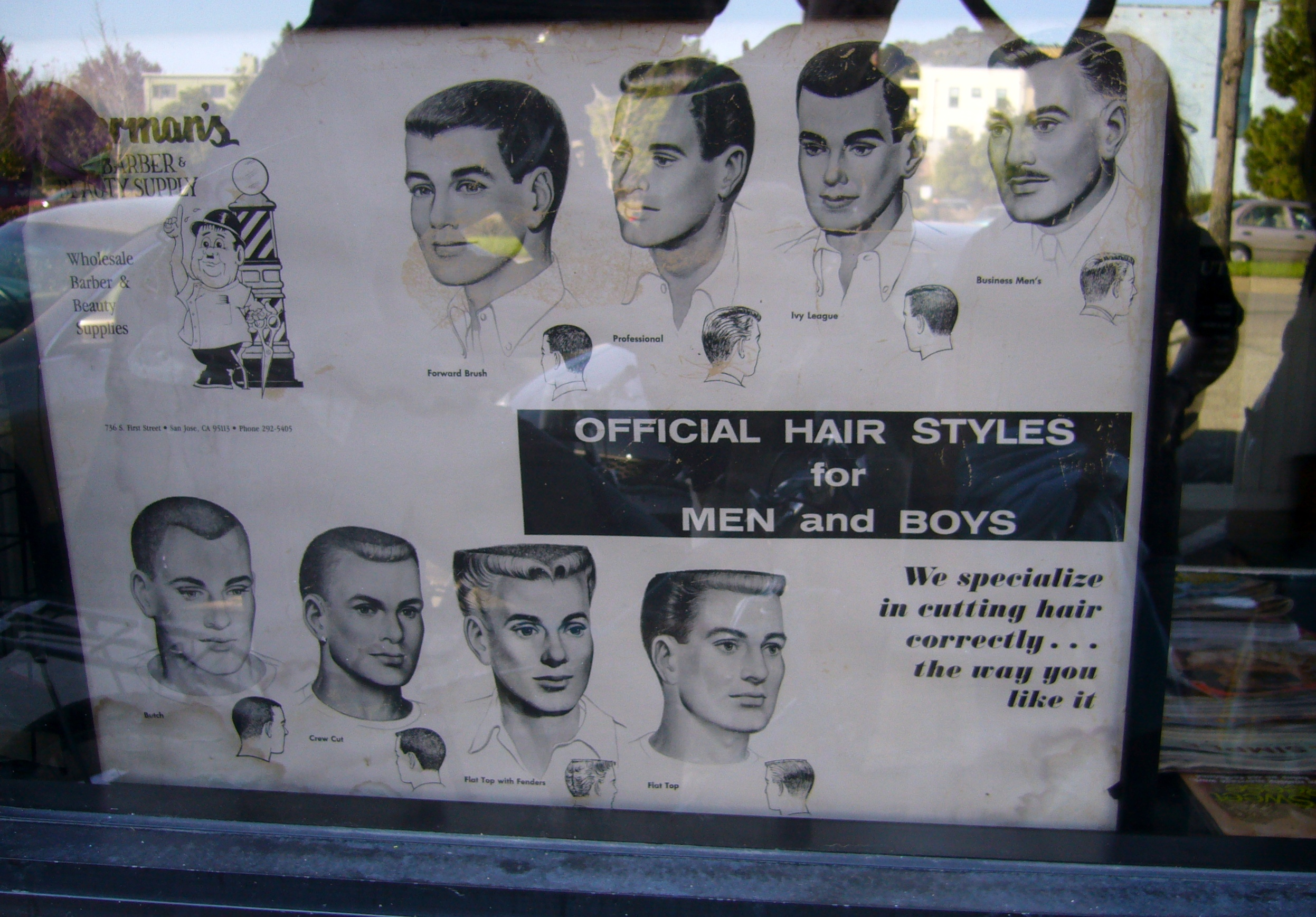 hair styles in the 50 s