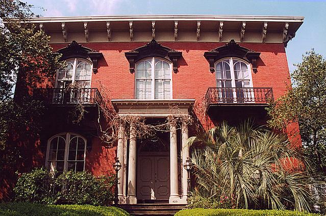 Mercer House Savannah Ga Tadson Bussey Flickr