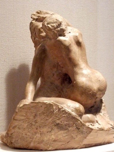 Bacchantes Embracing by Auguste Rodin 1880 French Plaster