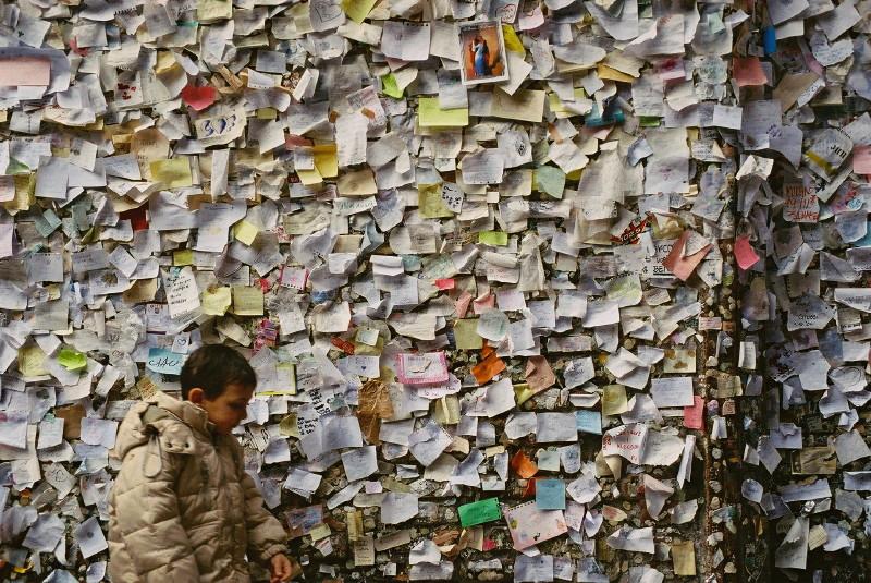 Romeo & Juliet wall (Verona)