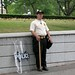 Honor Guard near White House  Antiwar March Sept 2005 by Jim Bovard