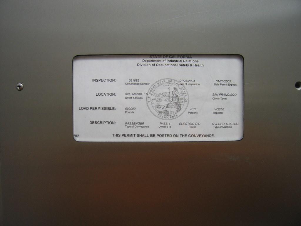 elevator license