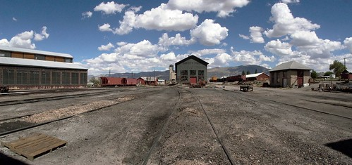 railroad sky clouds landscape lumix nevada trains roadtrip mining ely ghosttrain highway50 greatbasin
