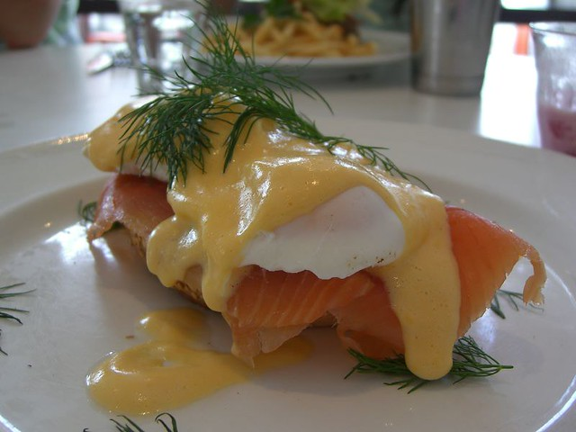 Smoked Salmon Eggs Benedict - Cafe Bliss | Flickr - Photo Sharing!