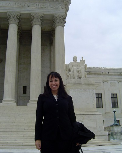 In Front of the Supreme Court