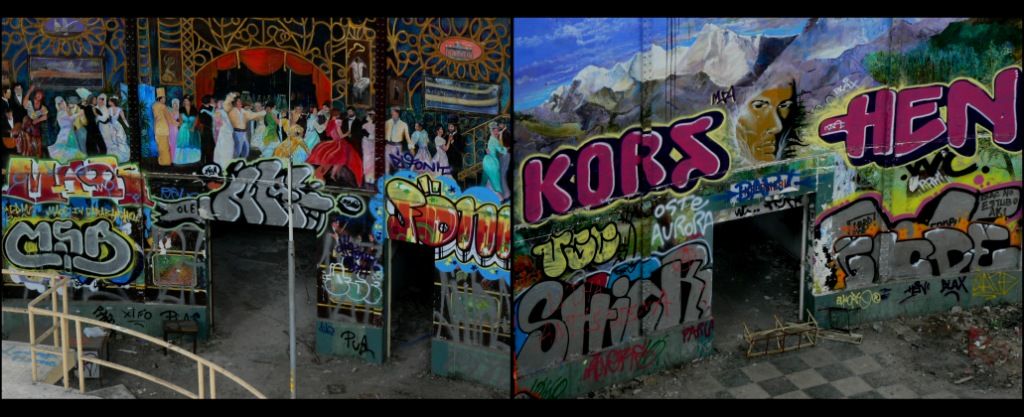 Graffiti Kors Madrid