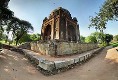 Delhi - Tombe d'Humayun - 23-02-2007 - 15h30