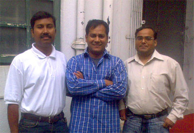 Debashish, Shashi and Srijan