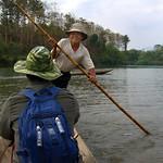 Smiling Rower - Luang Prabang, Laos