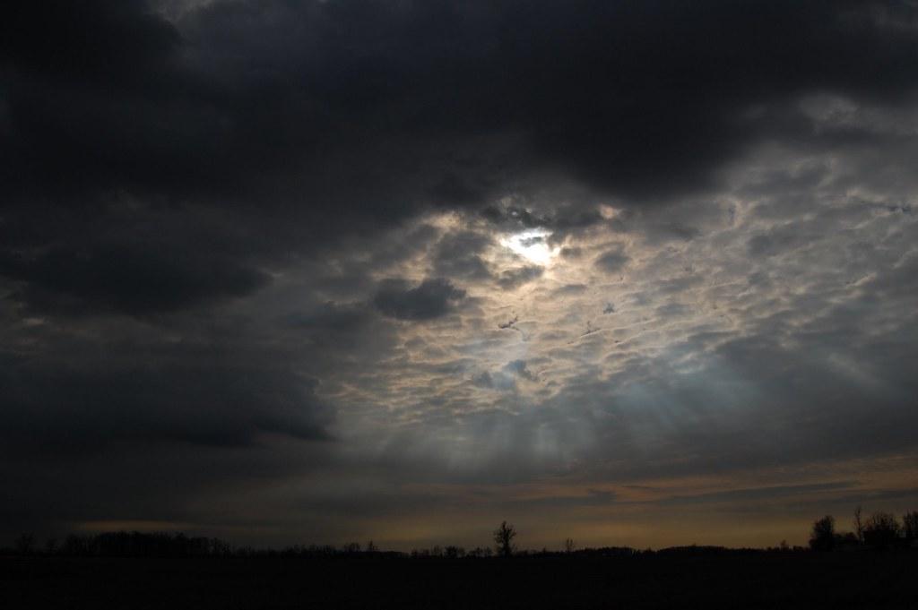Eerie Sunset