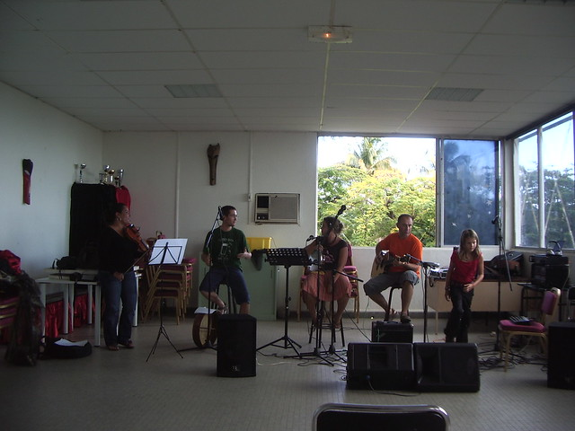 Music Rehearsal in Basse-Terre