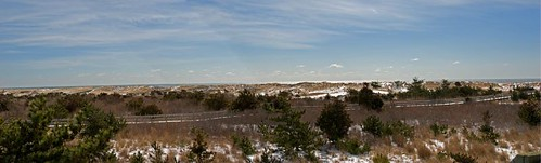 Panoramic Fire Island by Alida's Photos