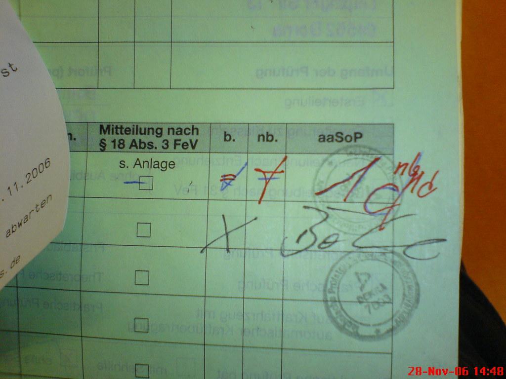 Aasop fahrprüfung bestanden   shit_klirr_kopf   flickr
