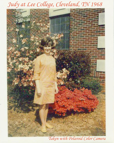 Judy at Lee College April 1968