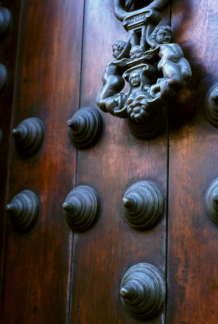 Cartagena Door Knocker Flickr Photo Sharing