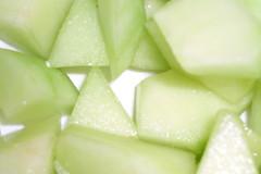 honeydew, fruit, food, muskmelon, melon,