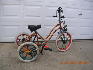 Schwinn Excerciser made into Kinetic Hand Cycle!