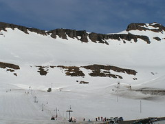 Iceland skiing area