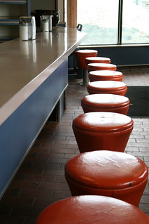 Diner chairs in colour