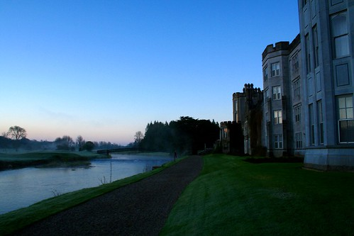 morning ireland irish sunrise dawn hotel estate manor adare